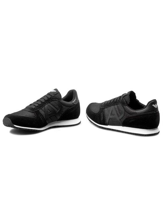 Armani Jeans Armani Jeans Sneakersy 935027 6A420 00020 Czarny