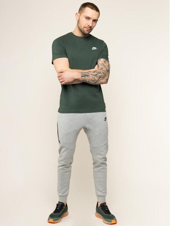 Nike Nike Teplákové kalhoty Sportswear Tech Fleece 805162 Šedá Slim Fit