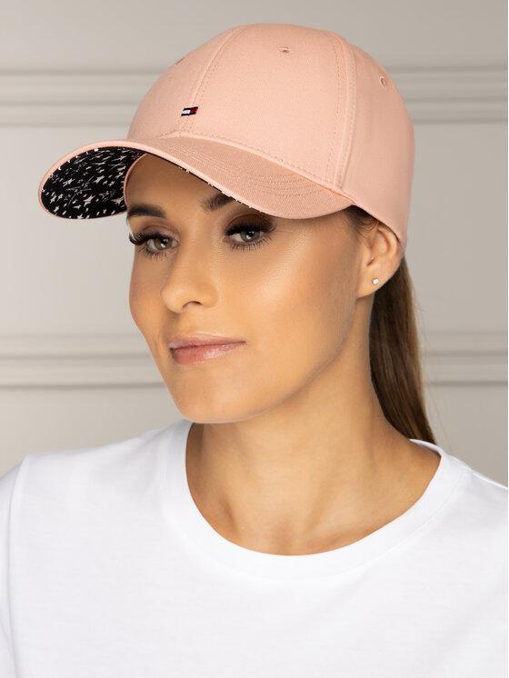 Tommy Hilfiger Tommy Hilfiger Καπέλο Jockey Bb Print Cap AW0AW06181 Ροζ