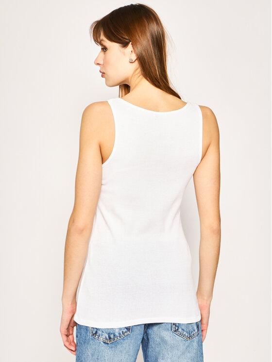 Guess Guess Top Bebe W0GI73 K1810 Blanc Slim Fit