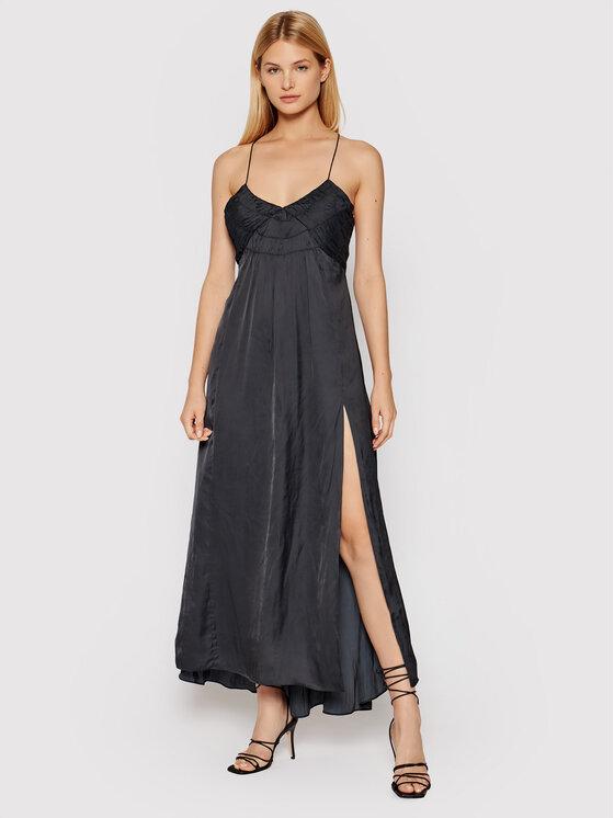 Zadig&Voltaire Kasdieninė suknelė Rayonne WKCP0405F Juoda Regular Fit