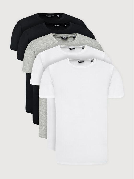 Only & Sons 5 marškinėlių komplektas Matt Life Longy 22012786 Spalvota Regular Fit