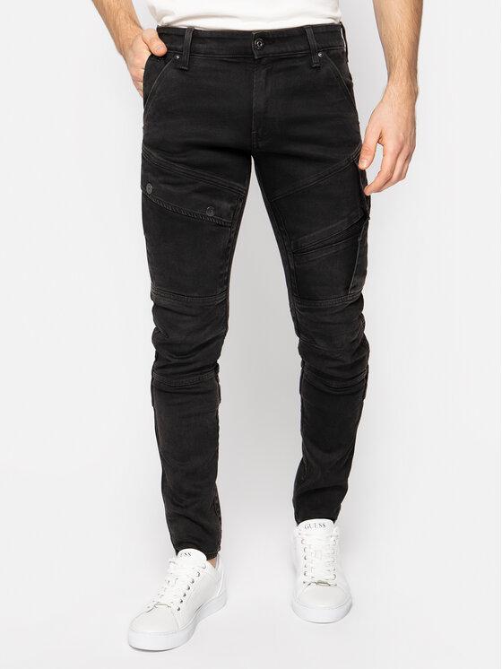 G-Star Raw G-Star Raw jeansy Skinny Fit Airblaze D16129-B766-B200 Nero Skinny Fit