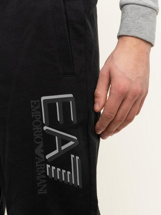 EA7 Emporio Armani EA7 Emporio Armani Spodnie dresowe 3HPP98 PJ05Z 1200 Czarny Regular Fit