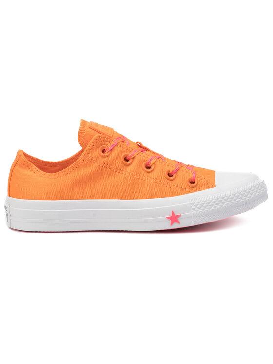 Converse Converse Sneakers aus Stoff Ctas Ox 564115C Orange