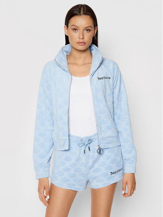 Juicy Couture Džemperis Tanya JCWA121070 Mėlyna Slim Fit