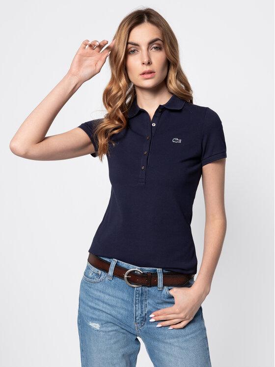 Lacoste Lacoste Polo PF7845 Bleu marine Slim Fit