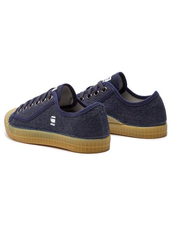 G-Star Raw G-Star Raw Sneakers aus Stoff Rovulc Roel Denim Wmn D07669-8714-881 Dunkelblau