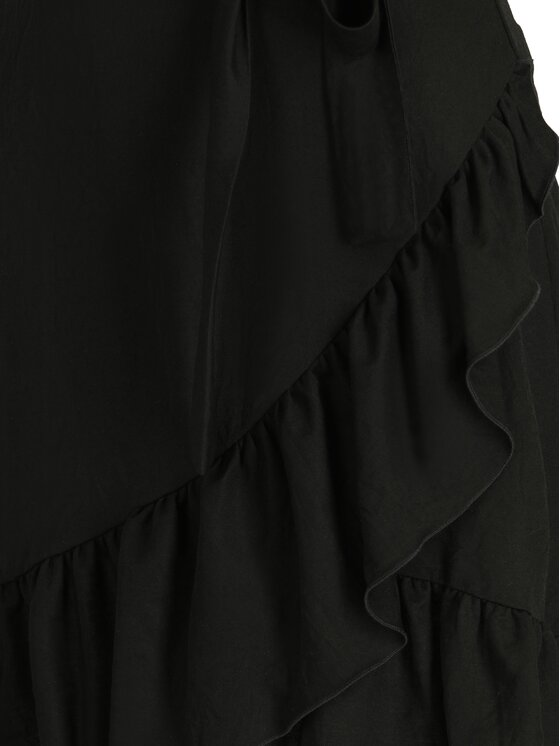 Patrizia Pepe Patrizia Pepe Robe de jour 2A1920/A4Y7-K103 Noir Regular Fit