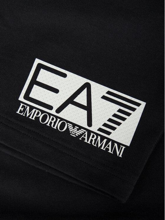 EA7 Emporio Armani EA7 Emporio Armani Αθλητικό σορτς 3GPS73 PJ05Z 1200 Μαύρο Regular Fit