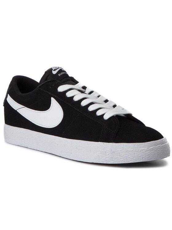 Nike Nike Boty Sb Zoom Blazer Low 864347 019 Černá