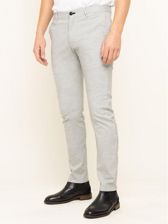 Joop! Jeans Joop! Jeans Kalhoty z materiálu Steen 30017314 Šedá Slim Fit