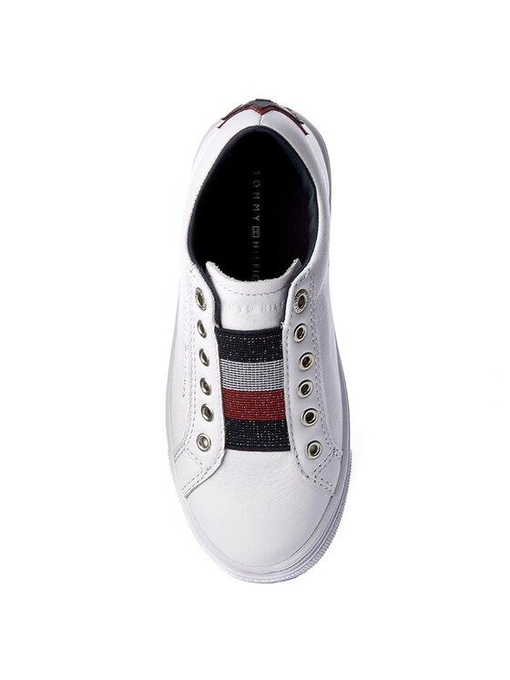 Tommy Hilfiger Tommy Hilfiger Chaussures basses Venus Jr 18A1 FG0FG00103 Blanc