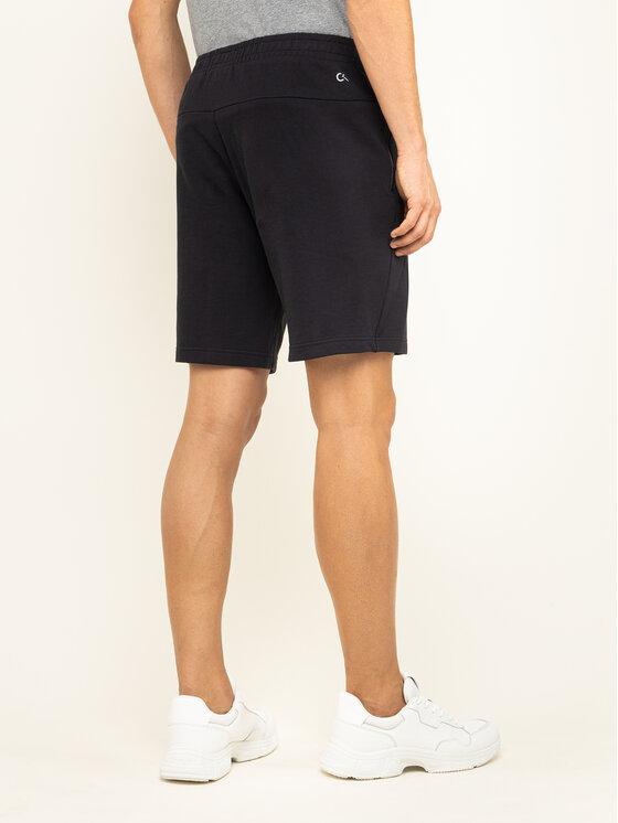 Calvin Klein Performance Calvin Klein Performance Szorty materiałowe 00GMF9S865 Czarny Regular Fit