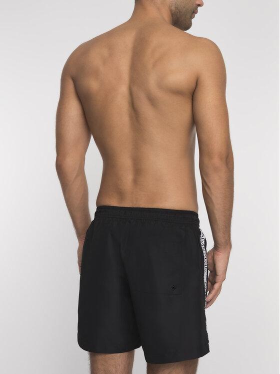 Calvin Klein Underwear Calvin Klein Underwear Plavecké šortky KM0KM00393 Čierna Regular Fit