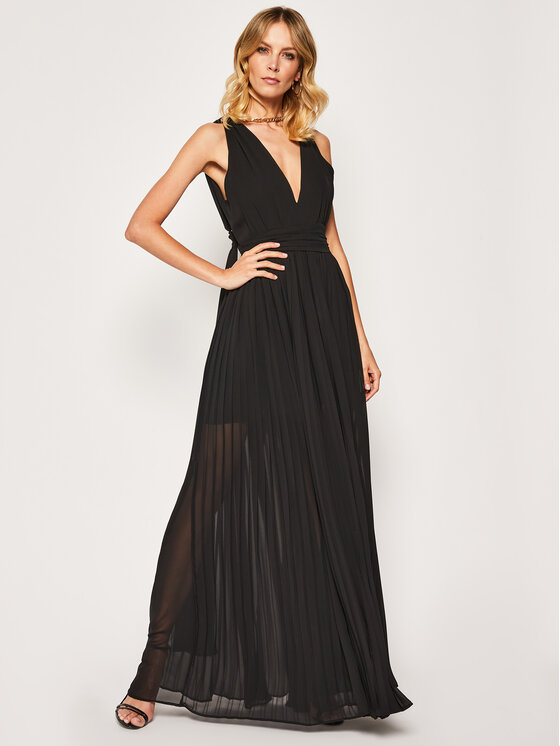 Babylon Vakarinė suknelė EL0705 Juoda Regular Fit
