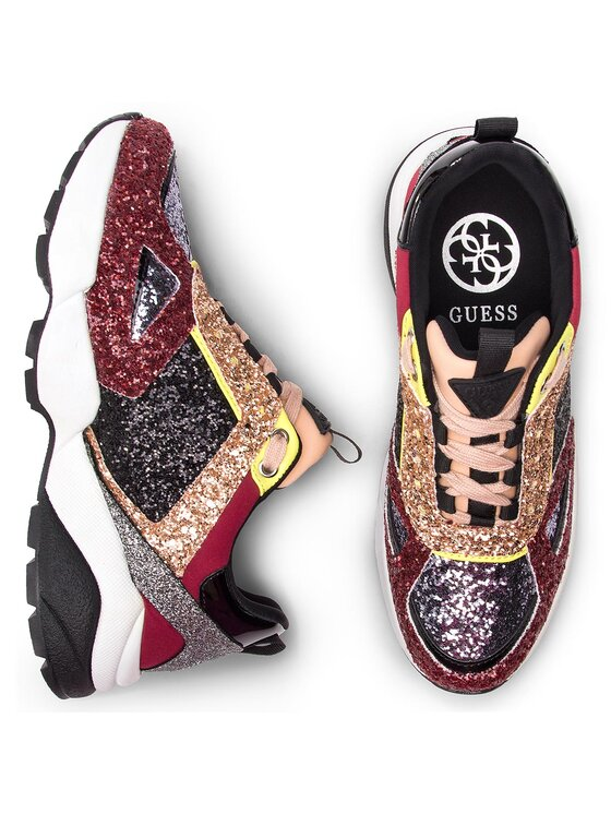 Guess Guess Sneakersy FL5SLY FAM12 Farebná