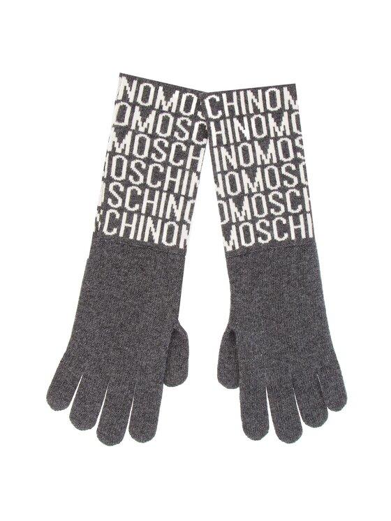MOSCHINO MOSCHINO Rękawiczki Damskie 65132 M1881 Szary