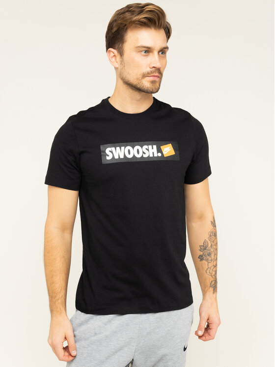 Nike Nike T-shirt NSW Tee Swoosh AR5027 Noir Standard Fit