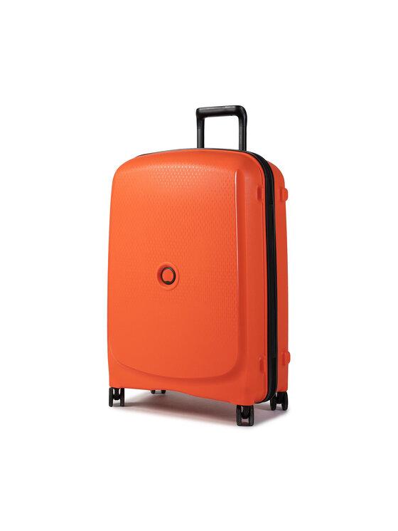 Delsey Vidutinio Dydžio Kietas Lagaminas Belmont Plus 00386181625 Oranžinė