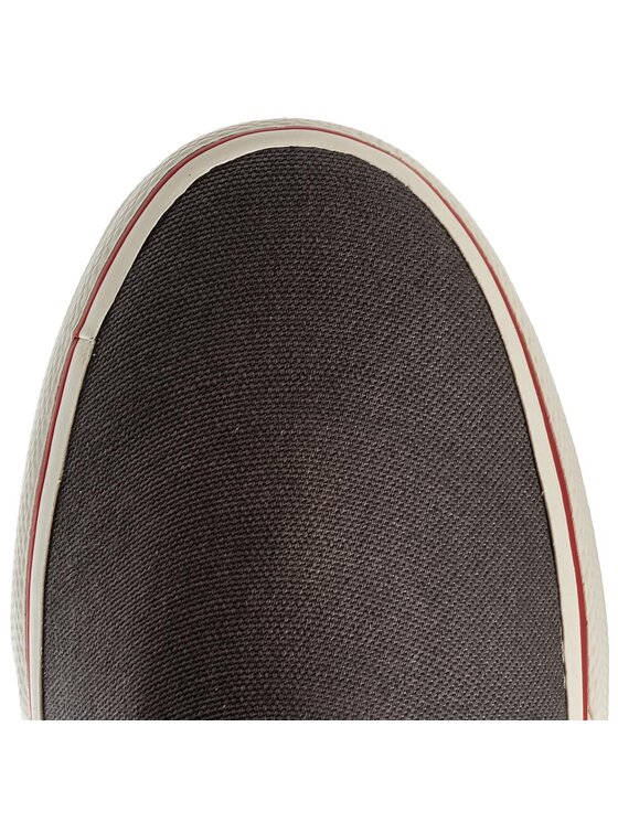 Tommy Jeans Tommy Jeans Sneakers aus Stoff Textile Slip On EM0EM00002 Grau