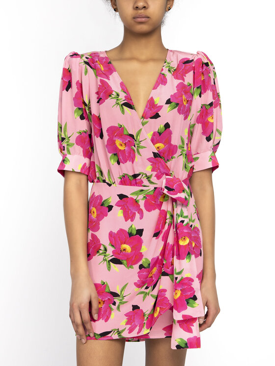 The Kooples The Kooples Robe d'été Pivoine In Love FROB18109K Rose Regular Fit