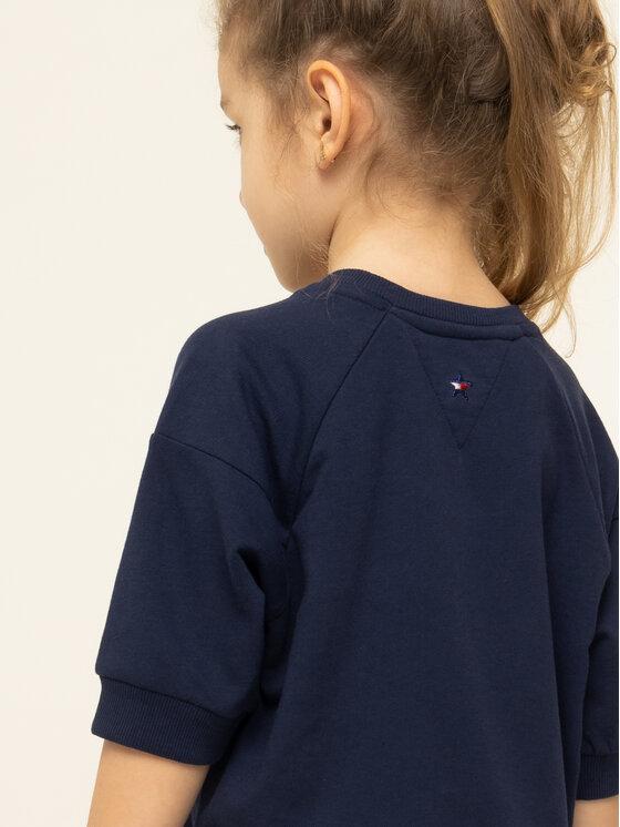 Tommy Hilfiger Tommy Hilfiger Φόρεμα καθημερινό KG0KG04494 S Σκούρο μπλε Regular Fit