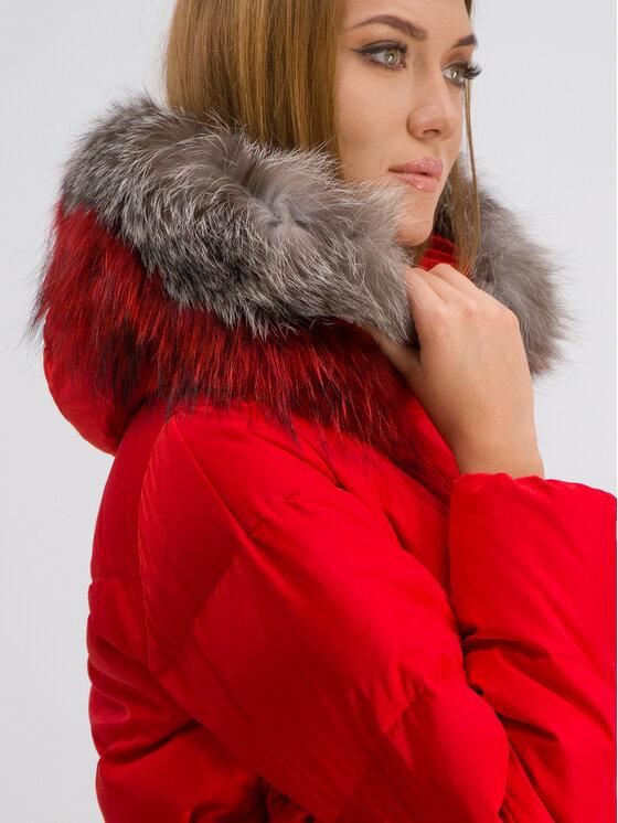 Marella Marella Sport Płaszcz zimowy Arnes 34960299 Czerwony Regular Fit