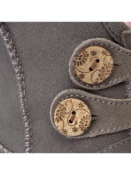 EMU Australia EMU Australia Pantofi Charlotte Flower Kids K11161 Gri