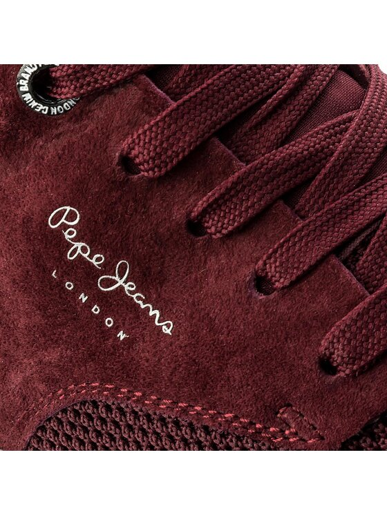 Pepe Jeans Pepe Jeans Sneakersy Jayden Tech PMS30410 Bordó