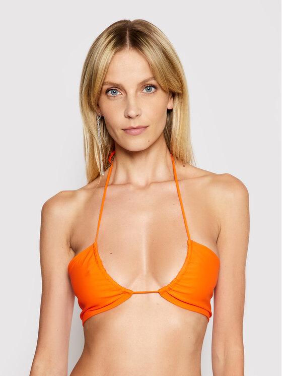 Drivemebikini Bikinio viršus Vespa 2021-DRV-030_HR Oranžinė