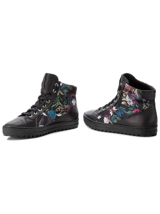 Gino Rossi Gino Rossi Sneakersy Aversa DTH224-F46-8QSS-9999-F Čierna