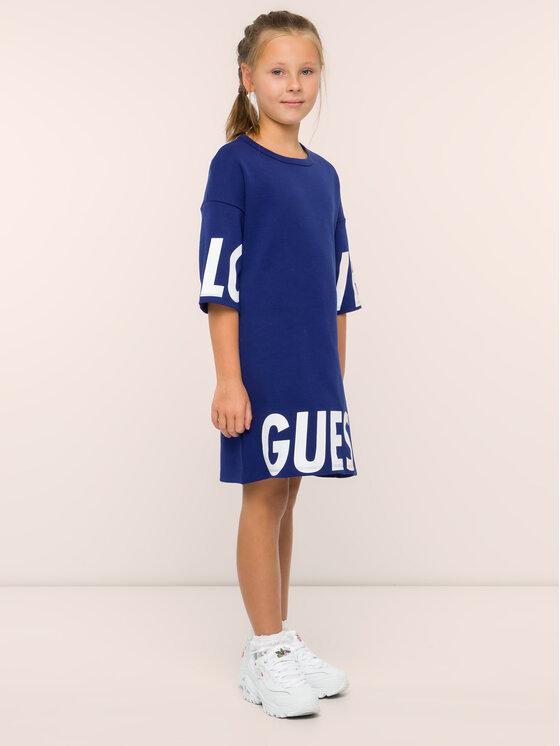 Guess Guess Hétköznapi ruha J94K14 K83X0 Sötétkék Regular Fit