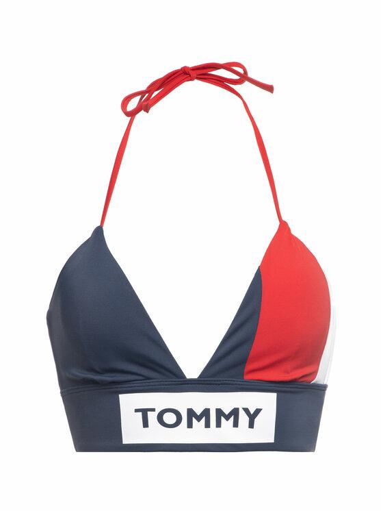 Tommy Hilfiger Tommy Hilfiger Góra od bikini Longline Triangle UW0UW01816 Kolorowy