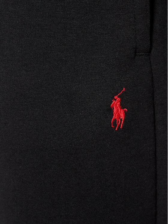 Polo Ralph Lauren Polo Ralph Lauren Spodnie dresowe Double Knt Cvs 710828117001 Czarny Regular Fit
