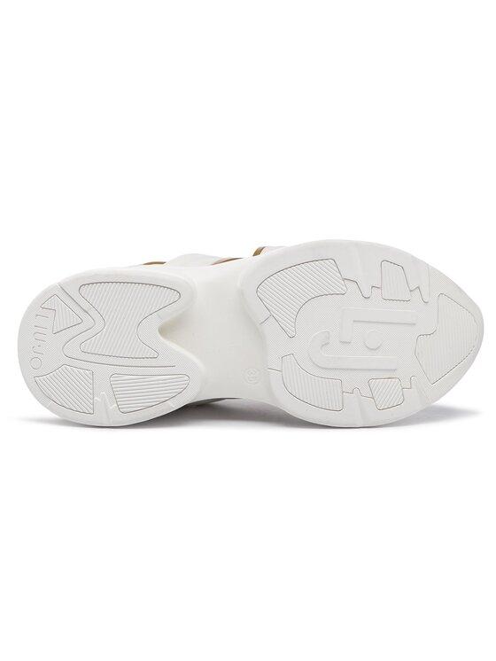 Liu Jo Liu Jo Laisvalaikio batai Jog 07 B19037 TX038 Balta