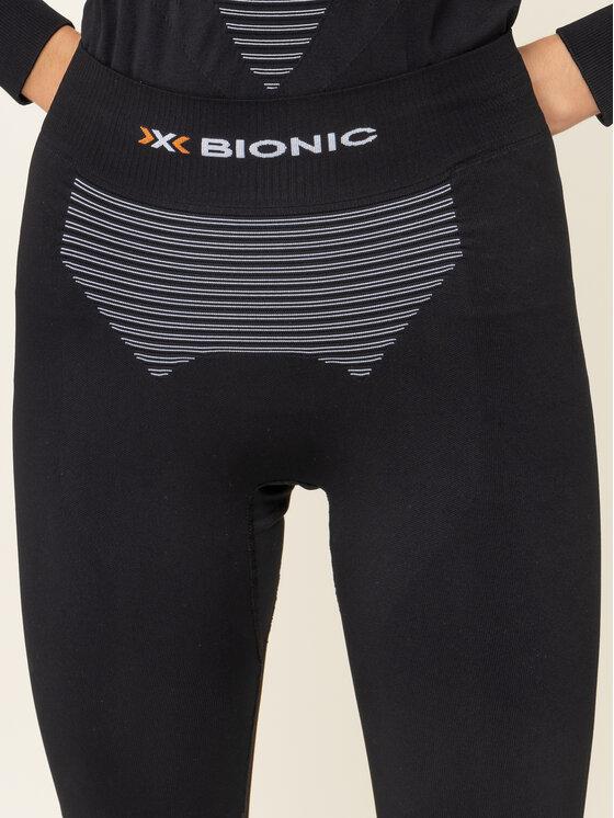 X-Bionic X-Bionic Sous-vêtement thermique bas Energizer 4.0 NGYP07W19W Noir Slim Fit