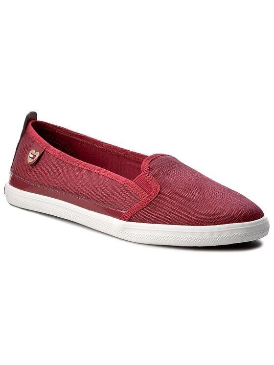 Tommy Hilfiger Tommy Hilfiger Πάνινα παπούτσια Keira Hg 2D1 FW0FW00342 Μπορντό