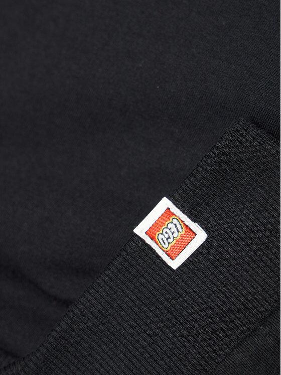 LEGO Wear LEGO Wear Bluza 12010369 Czarny Regular Fit