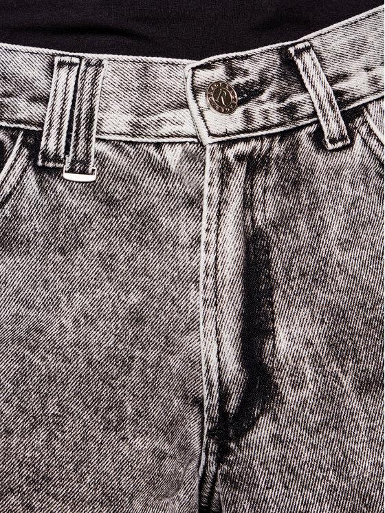 Rage Age Rage Age Szorty jeansowe Hathor 2 Szary Regular Fit