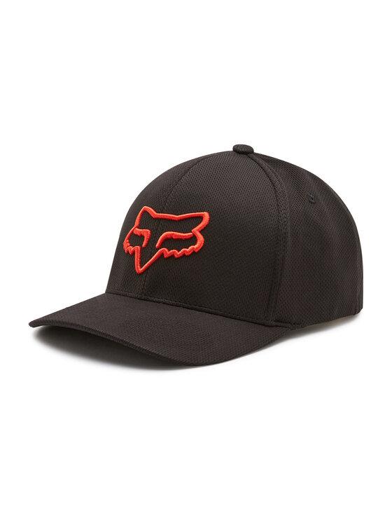 Fox Racing Kepurė su snapeliu Lithotype Flexfit 2.0 Hat 27088 Juoda