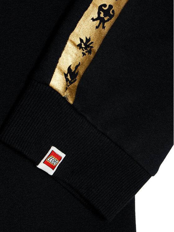 LEGO Wear LEGO Wear Spodnie dresowe 12010370 Czarny Regular Fit