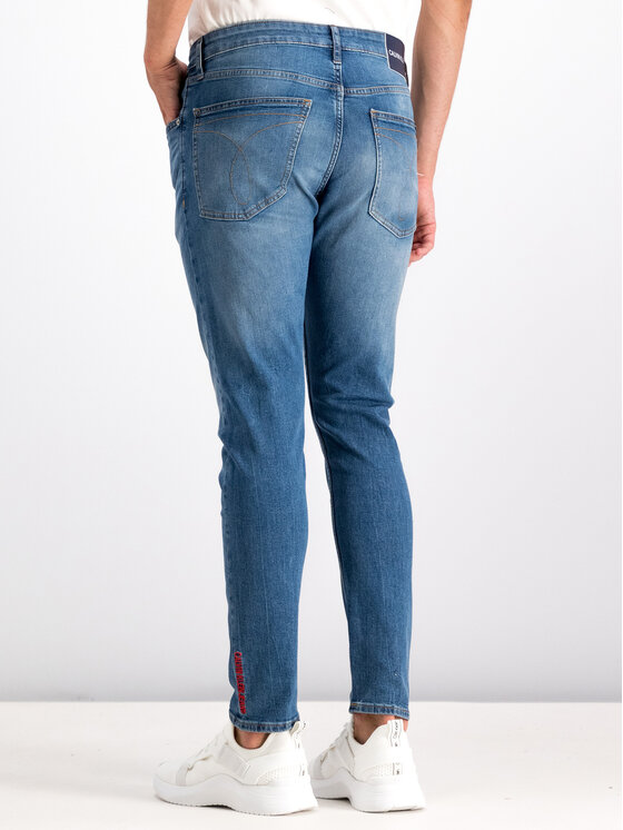 Calvin Klein Jeans Calvin Klein Jeans Дънки Skinny Fit J30J312437 Тъмносин Regular Fit