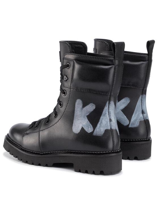 KARL LAGERFELD KARL LAGERFELD Žygio batai KL42870 Juoda