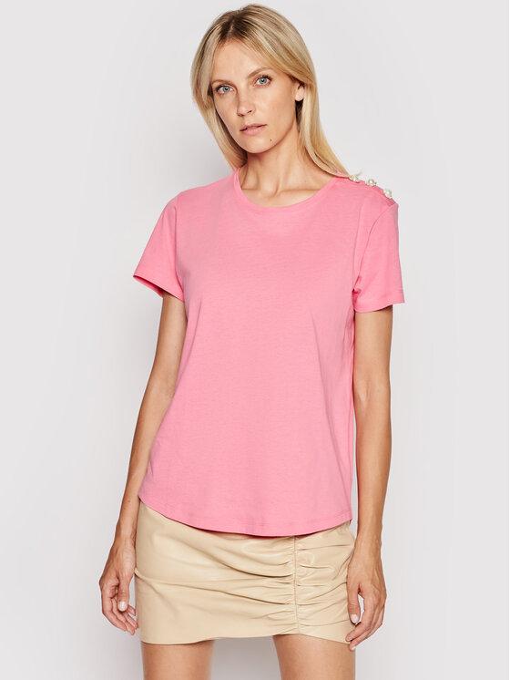 Custommade Marškinėliai Molly 999114105 Rožinė Regular Fit