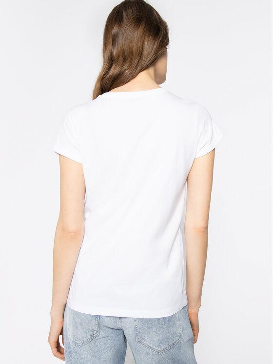 iBlues iBlues T-shirt Gel 79711201 Blanc Regular Fit