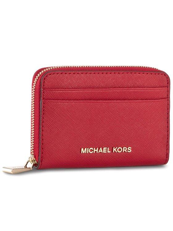 Michael Kors Michael Kors Mały Portfel Damski Money Pieces 32H7GF6Z5L Czerwony