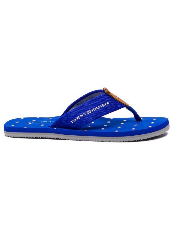 Tommy Hilfiger Tommy Hilfiger Σαγιονάρες Mini Flag Footbed Beach Sandal FM0FM01930 Σκούρο μπλε
