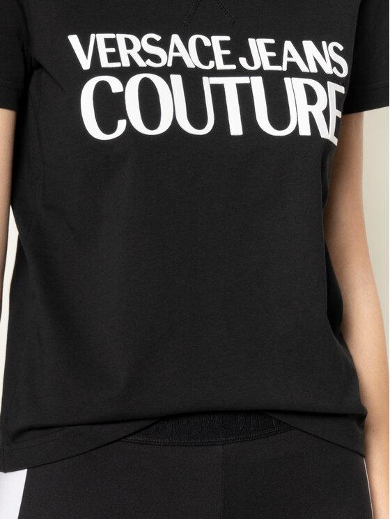 Versace Jeans Couture Versace Jeans Couture T-Shirt B2HVA7X0 Schwarz Regular Fit