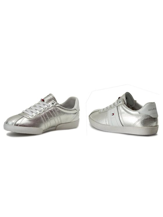 Tommy Hilfiger Tommy Hilfiger Sneakers Lizzie 1D1 FW0FW00417 Argent